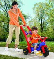 наличие. велосипед 3 в 1. ручка для родителей. Fisher price 1, 5 года-5 лет
