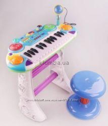 Детский синтезатор со стульчиком