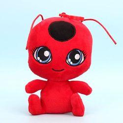Мягкая плюшевая игрушка Леди Баг и Супер Кот - Тикки и Плаг 15 см