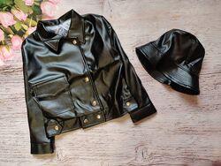 Нереально стильная курточка с модной панамкой
