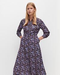 Новое Платье миди Reserved на пуговицах до низа, вискоза, с бирками