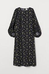 Новое платье H&M, длинное, в цветочный принт, с бирками, есть размеры