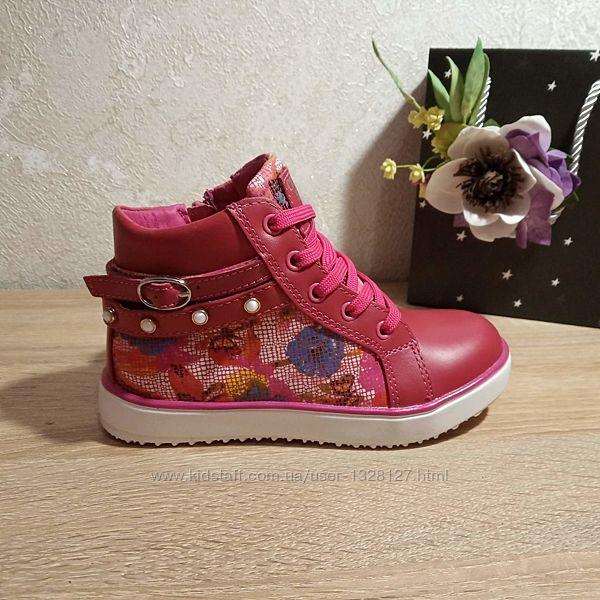 шикарные Демисезонные ботинки для девочек BIKI