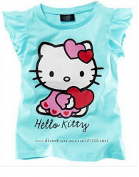 футболочки для девочек с Китти и Мэри