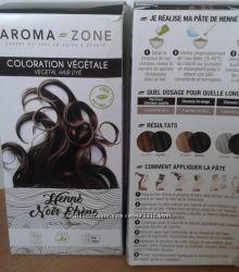 Хна черная Henne noir ebene с французского сайта Аroma-zone. co