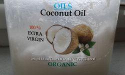 Кокосовое масло нерафинированное, пищевое, холодного отжима
