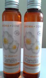 Для быстрого восстановления пересушеной кожи и волос масло Камелии Camellia