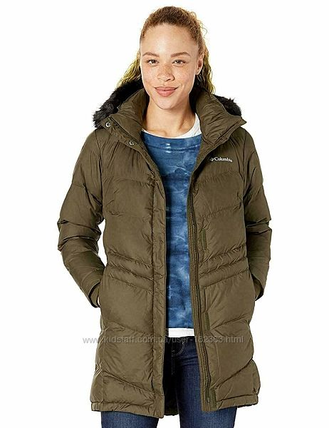 2XL, 56 пальто Columbia оригинал олива