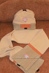 Набор зимний  шапка, шарф Войчик