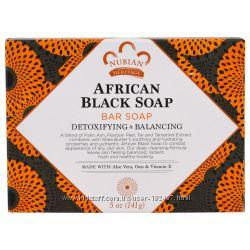 Африканское черное мыло Nubian Heritage. Для проблемной кожи.