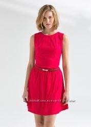 Шикарное алое платье от Mango L скидка