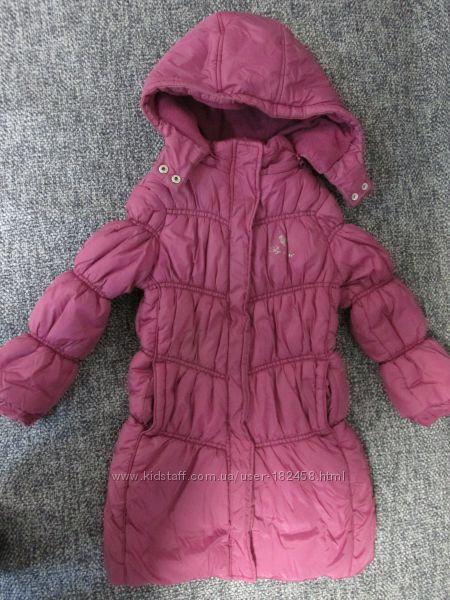 Пальто Chicco на 4-6лет