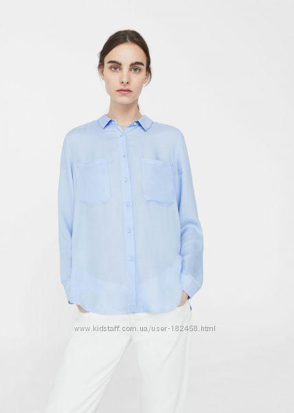 Легонькая рубашка от Mango XS,  S