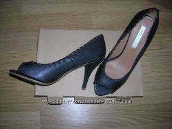 Стильные кожаные туфельки от манго
