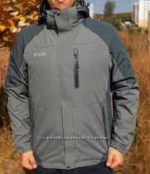Распродажа Мужская мембранная куртка Columbia Titanium 3-в-1