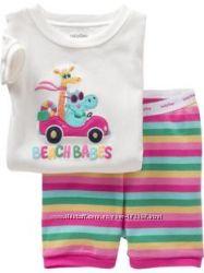 Пижама молочно-розовая в наличии 2Т, 4Т, 6T