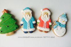 Расписные прянички на Николайчика и Новый год