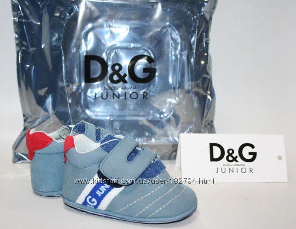 Стильные кроссовочки D&G на малышей