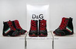 Стильные кроссовочки на мальчиков Dolce & Gabbana