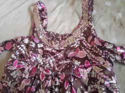 Платье-сарафан нарядное бу