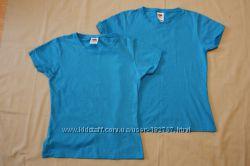 2 футболки Fruit of the Loom 152 см