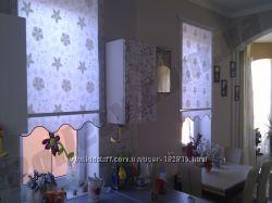 Рулонные шторы, тканевые ролеты, жалюзи