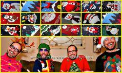 новогодние мега прикольные свитера p- S M L