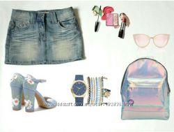 джинсовая юбка p-S