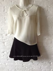 юбка восьми клинка Zara XS