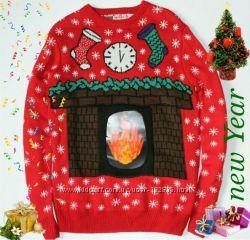 новогодний свитер Сeder Wood p-M