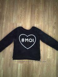 Пушистый плюшевый свитер H&M 6-8 лет