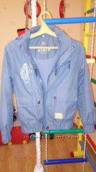 ветровка на хб подкладке р 140 в подарок зимняя куртка.