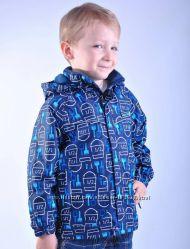 Демисезонная куртка для мальчика Donilo 74-104