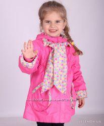 Куртка демисезонная для девочки donilo 80-110р.
