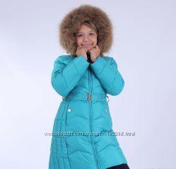 Зимнее пальто для девочки Snowimage 104, 110, 116, 122, 128