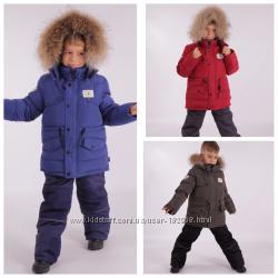 Зимний костюм - комбинезон  для мальчика KIKO 104, 110, 116, 122, 128