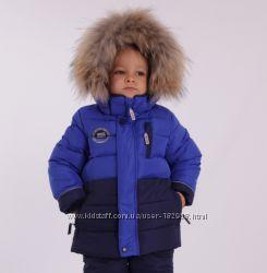 Зимний костюм для мальчика Kiko 74-80