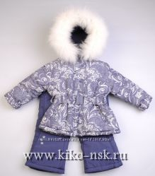 Зимний костюм - комбинезон для девочки Donilo 86, 98, 104, 116, 122, 128