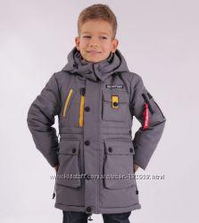 Зимняя куртка - парка на мальчика Scorpian 104-128 размер