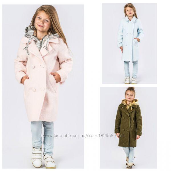 f4b4445e66b Демисезонное пальто для девочек X-Woyz DT - 8275 116-170 размер ...