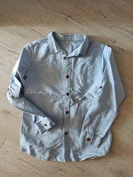 Рубашка, жилетка, шорты, футболки, туфли. тенниска 7 8 9 10 11 лет от H&M