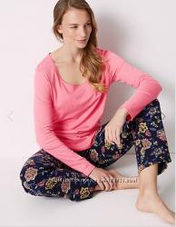 Пижама, Ночнушка  женская XS  M, платье для сна   Marks&Spencer