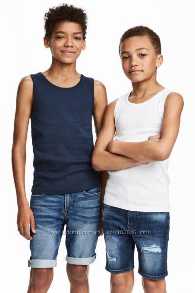 Майки  мальчику H&M 3 4, 6 8 10  лет