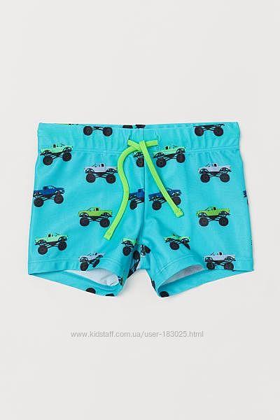 Плавки, шорты для купания мальчику 3 4 6 8, 8 10  лет от H&M