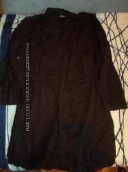 Льняная туника-рубашка