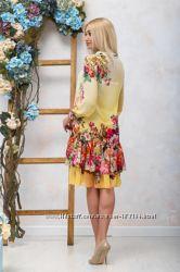 Шикарное платье-двойка