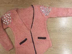 Шикарная кофта свитер кардиган
