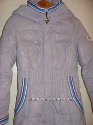 Пуховик-пальто женский теплый