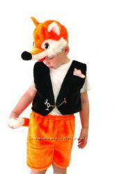 Карнавальный костюм лисичка или лис на 3-5 лет прокат Киев или Ирпень