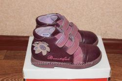 Демисезонные ботиночки фирмы Lapsi 27 размер, ортопеды